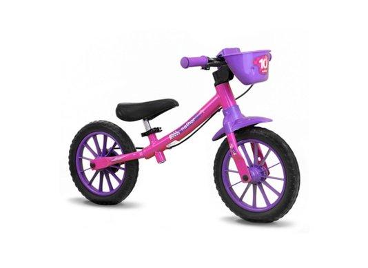 Bicicleta Balance Rosa/Roxo