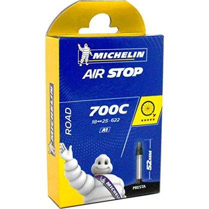 Câmara de ar Michelin Road 700 X 18/25 Válvula Presta 52MM