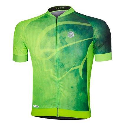 Camisa Brur Verde Fluor Masculina Mauro Ribeiro