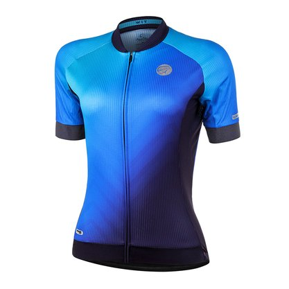Camisa Wit Feminina Azul Escuro Mauro Ribeiro