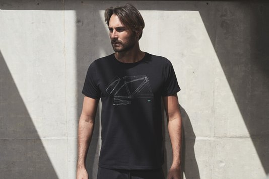 Camiseta Casual T-Shirt Bike Tech Sense