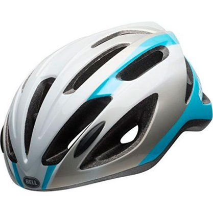 Capacete Bell Crest-R Prata/Azul