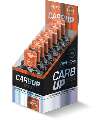 Carbon-Up Gel Black Laranja 10 Un Probiotica