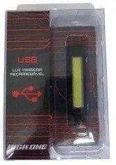 Luz Traseira Recarregável USB High One
