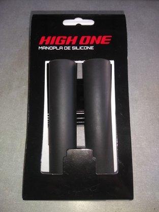 Manopla de Silicone 135mm preta High One