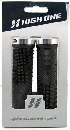 Manopla MTB 130 mm c/trava prata High One