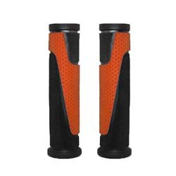 "Manopla MTB ""vice"" 130mm laranja Elleven Cód. 11274"