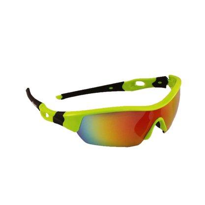 Óculos Ciclist Spider Verde/Branco Elleven Cód. 11580
